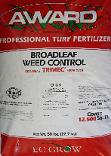 award turf fertilizer with broadleaf weed control